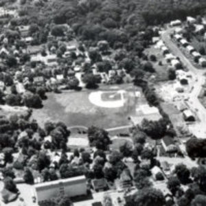 Aerial view of Washington Park