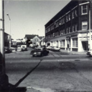 Haven Street looking west from Main Street