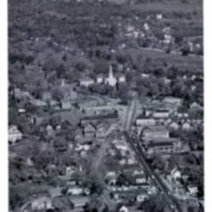 Aerial photo Reading Square looking north