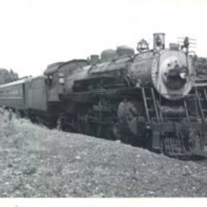 Boston & Maine Pacific 3640 at Reading Highlands