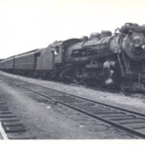 Boston & Maine Pacific 3653 with train #1020 at Reading Highlands