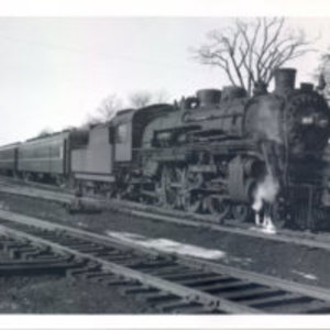Boston & Maine Pacific 3687 at Reading Highlands with train #118