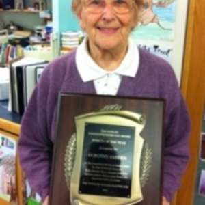 Dorothy Amsden, library donor and Saugus resident
