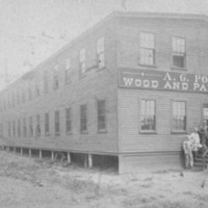 """A.G. Potter Wood and Paper Boxes"""