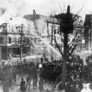 George H. Taylor store fire, Mar. 5, 1907