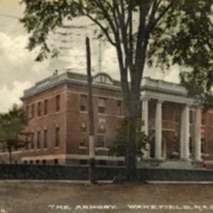 The armory Wakefield Massachusetts
