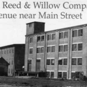 American Reed & Willow Company, North Avenue near Main Street, circa 1924