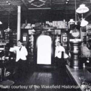 Bonney & Dutton's Old Corner Drug Store, circa 1907