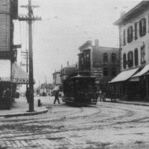 Corner of Main and Albion Street in 1890