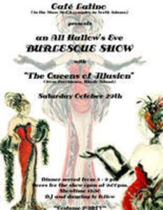 """The Queens of Illusion"" Burlesque Show"