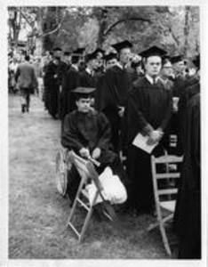 1958 Graduates at Commencement