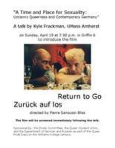 A Time and Place for Sexuality: Uncanny Queerness and Contemporary Germany