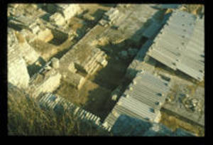 Aerial view of Trench 6, 1979