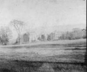 College Hall, Sigma Phi, and Hopkins Hall, 1897