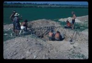 Dig at Trench 14, 1972