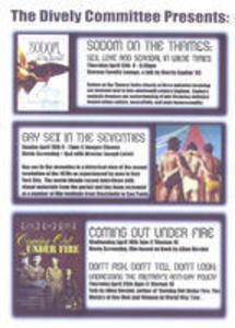 Dively Committee April Events poster, 2006
