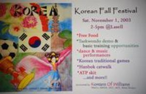 Korean Fall Festival 2003