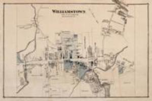 Map of Williamstown, circa 1876