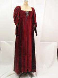 Merchant of Venice gown with train