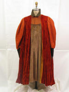 Merchant of Venice rolled and padded tunic