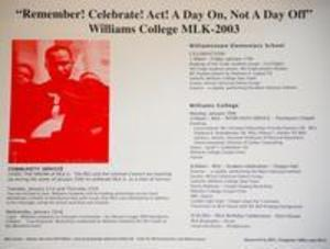 Remember! Celebrate! Act! A Day On, Not a Day Off