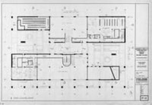 Sawyer furniture first floor plans, 1974