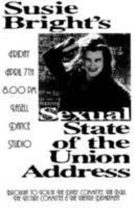 Sexual State of the Union Address