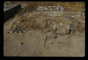 Skeletal Remains at Trench 32, 1987
