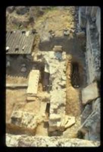 Skeletal Remains at Trench 6, 1987