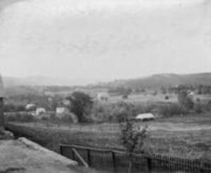 View from Zeta Psi, 1897