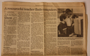 Pioneers in technology in Boston Public Schools