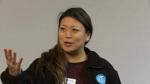 Jessica J. Tang at the Boston Teachers Union Digitizing Day: Video Interview