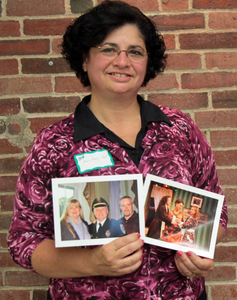 Ann-Marie Ford at the Sharon Mass. Memories Road Show