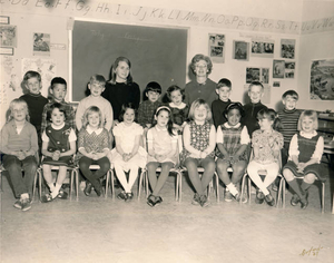 1st grade picture of Estabrook 1967
