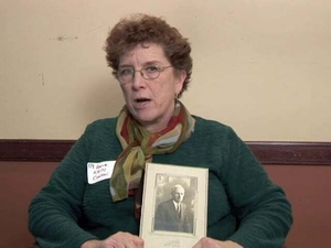Anne Kelly Contini at the Irish Immigrant Experience Mass. Memories Road Show: Video Interview