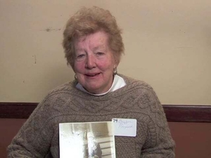 Barbara Smith Fitzgerald at the Irish Immigrant Experience Mass. Memories Road Show: Video Interview