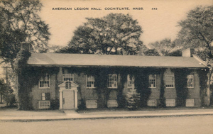 American Legion Hall, Cochituate, corner of West Plain and Route 27, Main Street (where Finnerty's Restaurant is located)
