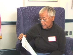 Beverly M. Hector-Smith at the Natick Mass. Memories Road Show: Video Interview