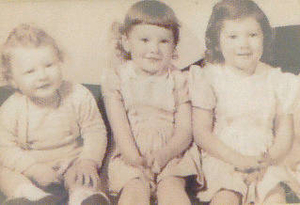 3 siblings--young age 1954