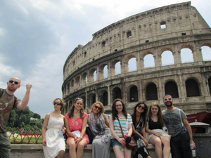 Food and culture class in Rome