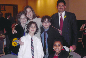 Allston Brighton Unsung Heroes 2011--Rodrigues Rao family portrait