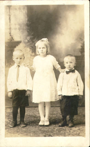 Father's children by first wife: Stanley, Helen and Walter