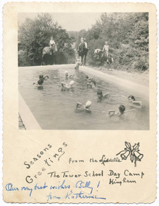 Christmas Card, Tower School Day Camp