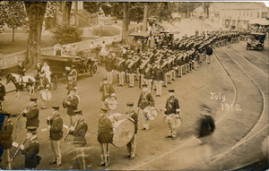 1912 Fourth of July parade