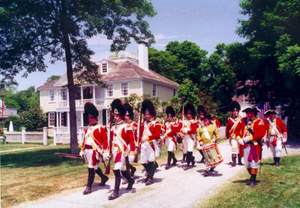 1999 reenactment of the historic 'Battle of Falmouth'