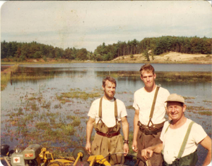 Working cranberry bog