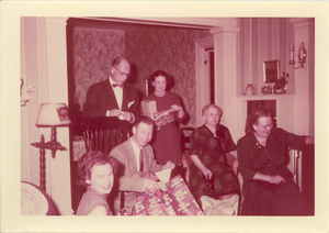 3 generations Christmas 1955