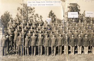 1943 Fort Bragg No. Carolina C-Battery 552 Field Artillery Battalion