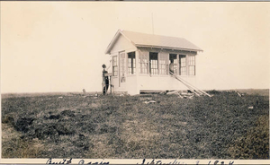 Lookout during the war