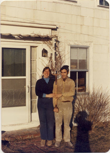 Our first day at our new home--April 1, 1978--our version of 'Truro Gothic'